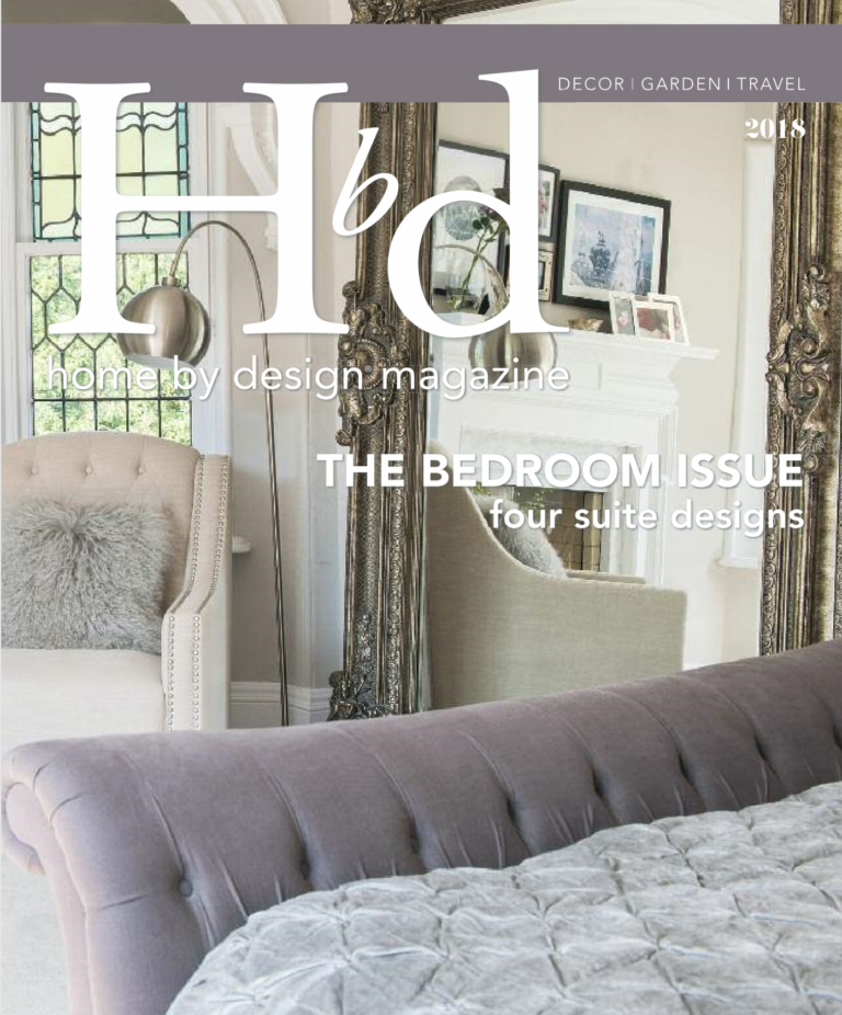 AMC design cover shot home by design magazine bedroom issue